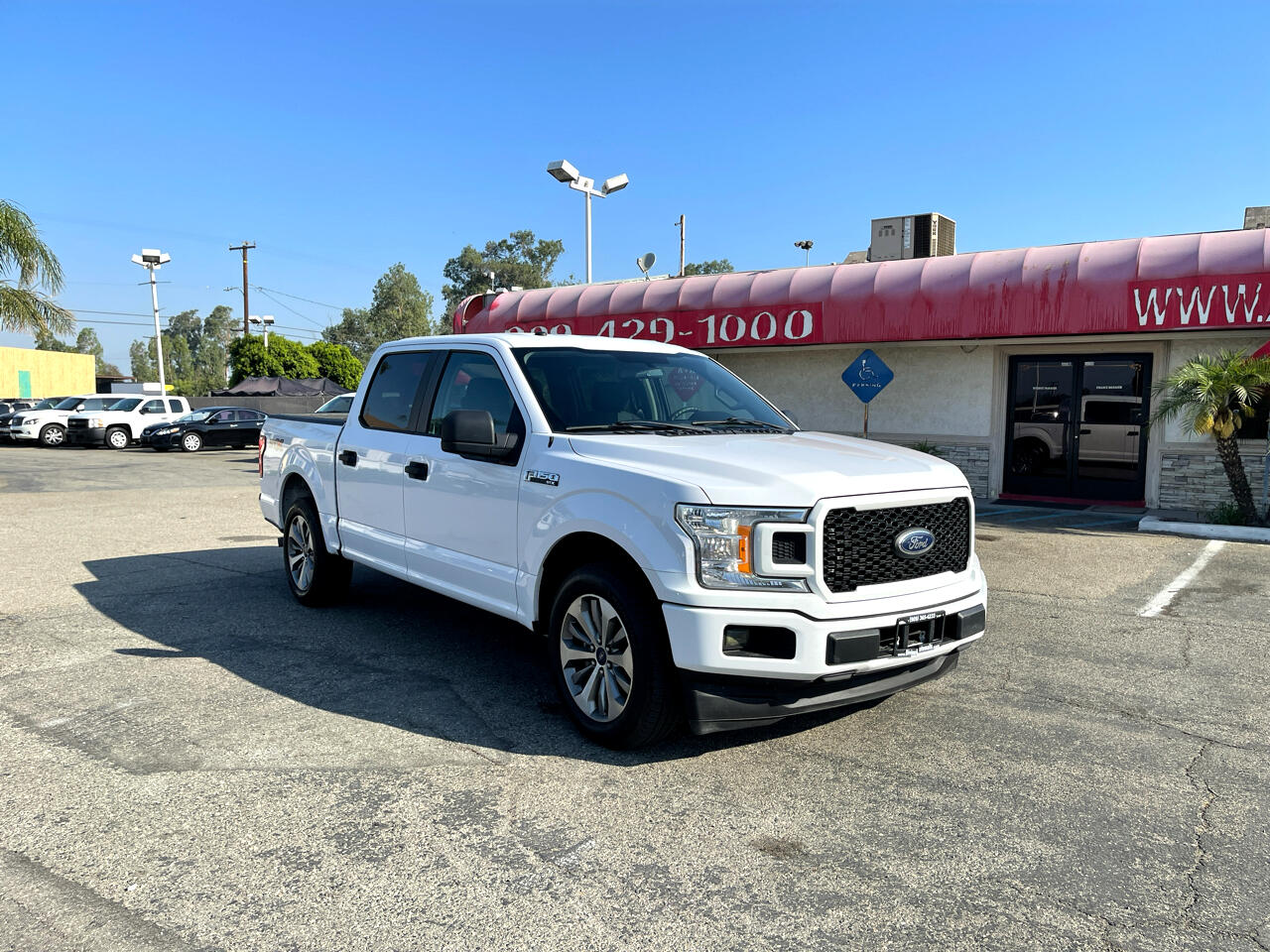 Ford F-150 XL SuperCrew Short Bed 2WD 2018
