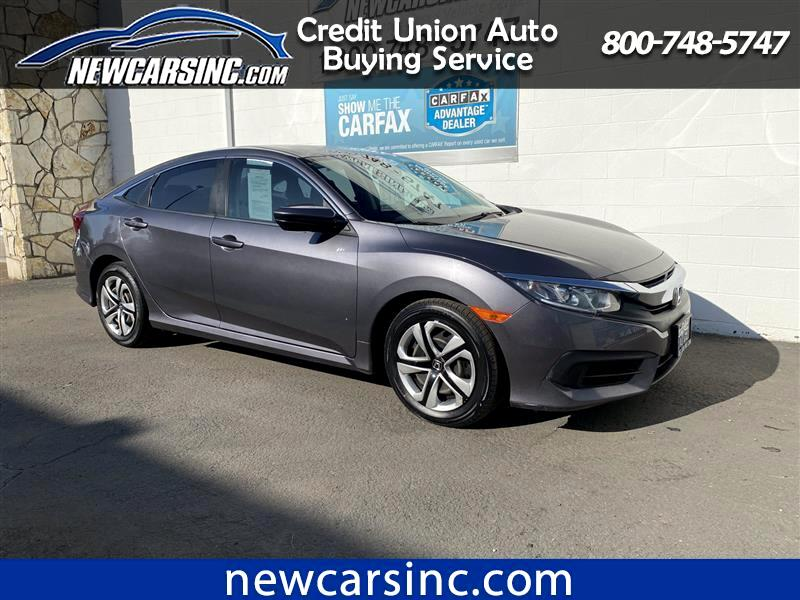 Honda Civic LX Sedan CVT 2018