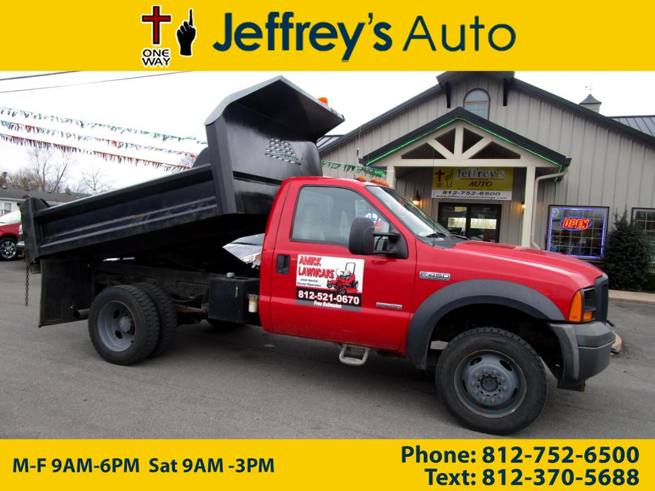 2006 Ford F-450 SD Regular Cab 4WD DRW