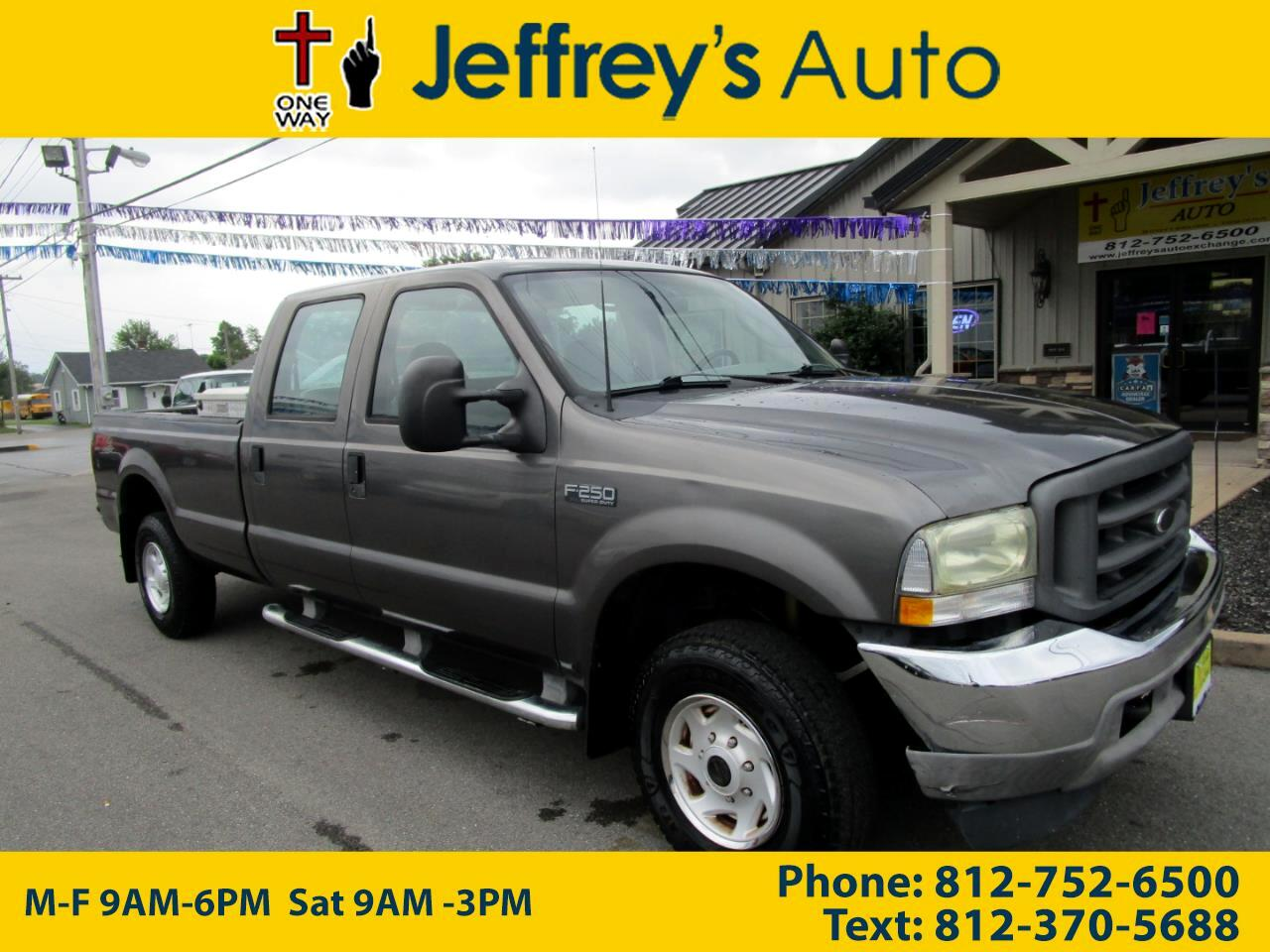 2003 Ford F-250 SD FX4 Crew Cab Long Bed
