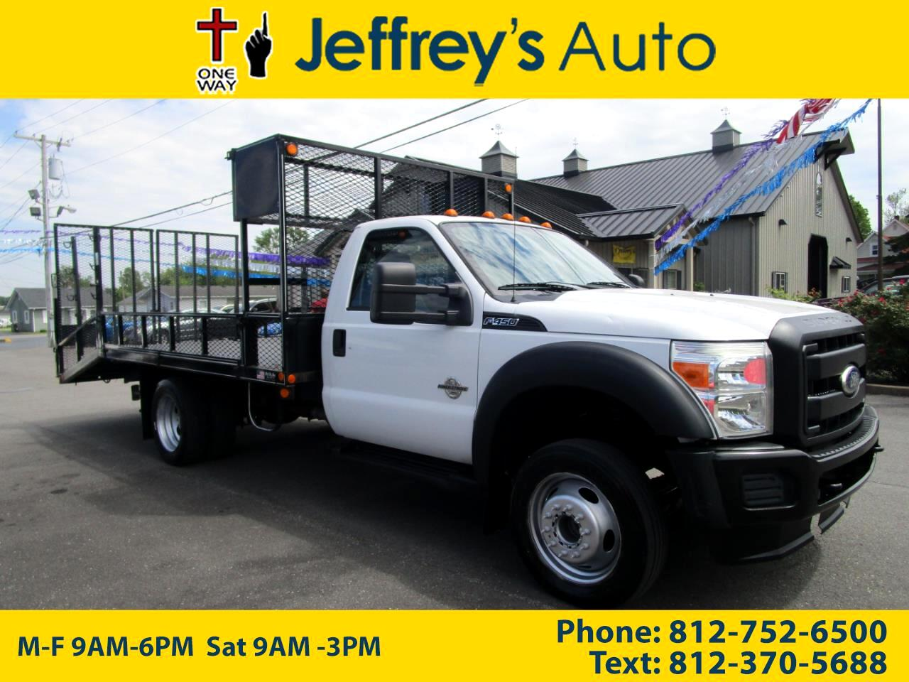 2011 Ford F-450 SD Regular Cab DRW 2WD