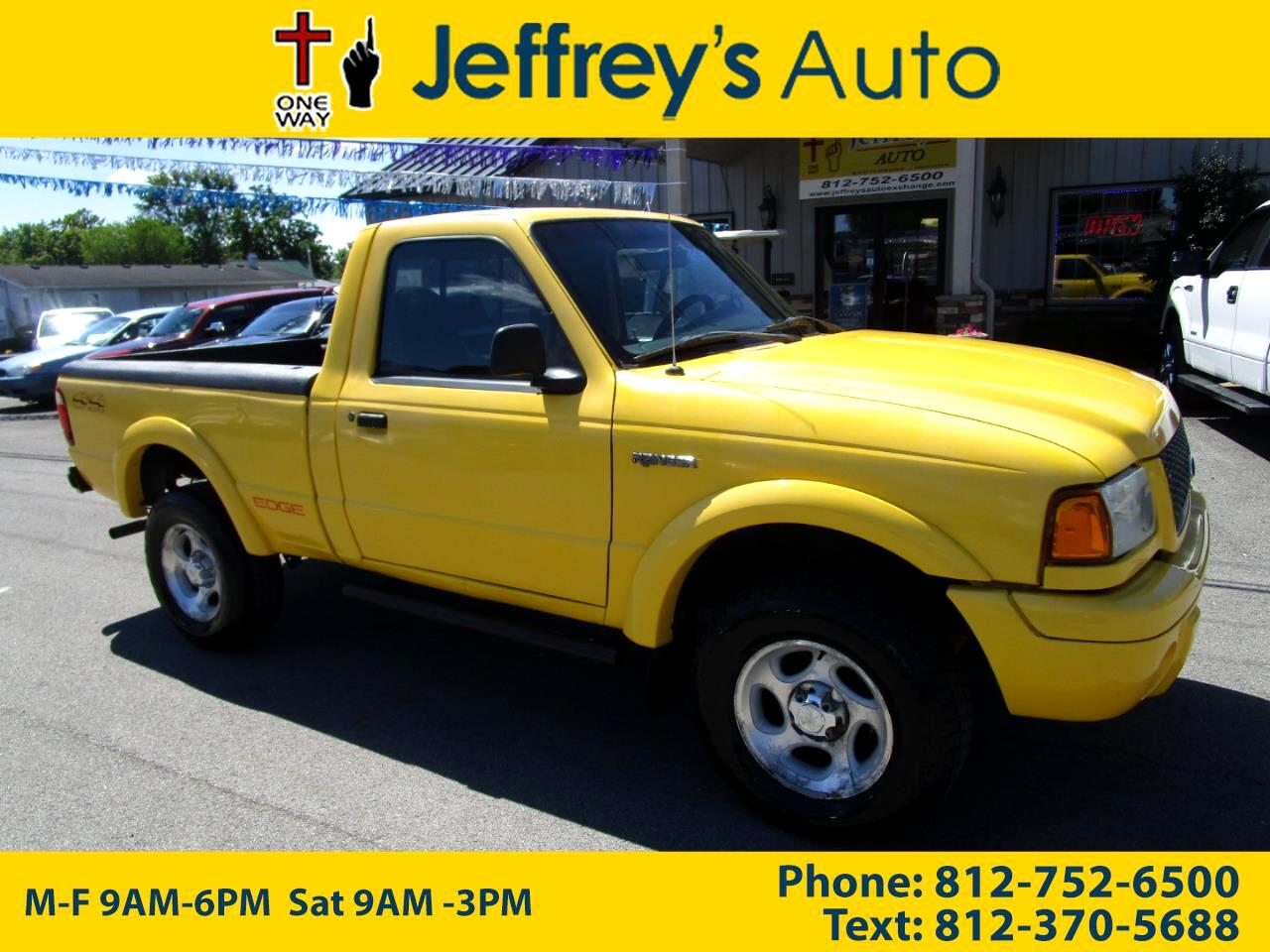 2002 Ford Ranger Edge Short Bed 4WD