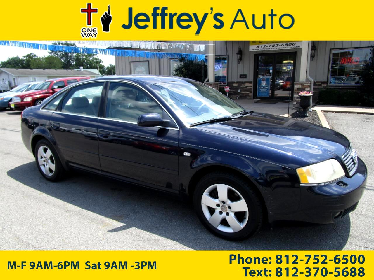 2003 Audi A6 3.0 with Tiptronic