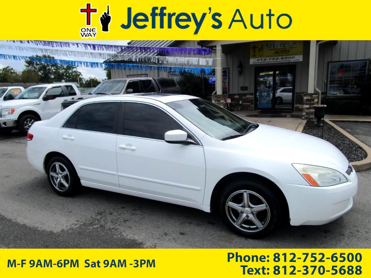 2004 Honda Accord EX Sedan with Leather