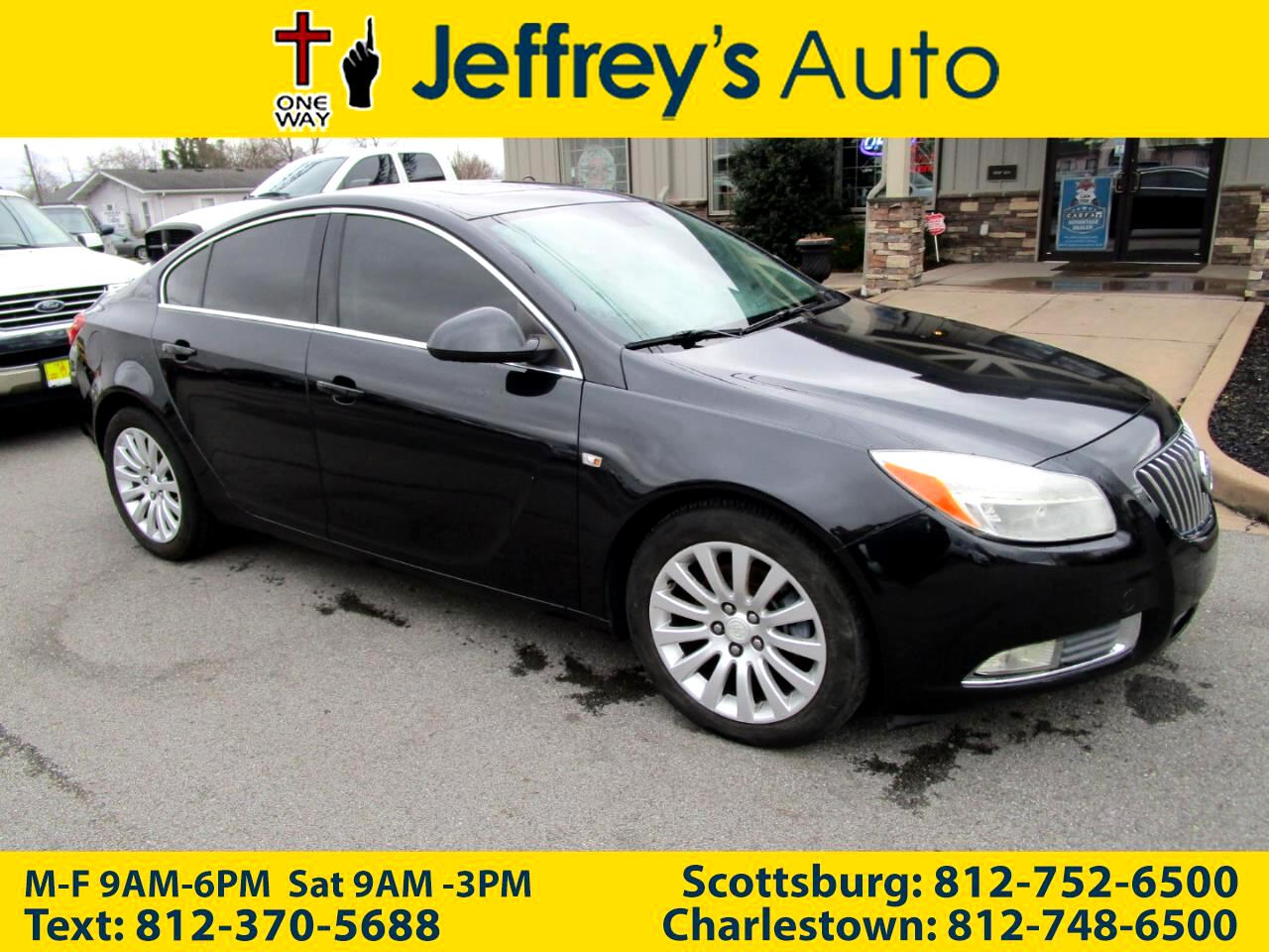 Buick Regal 4dr Sdn Turbo FWD 2011