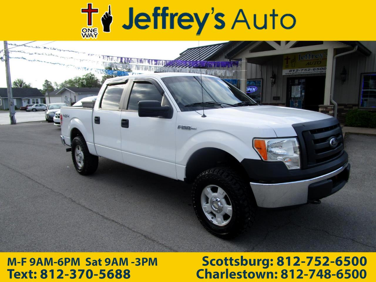 Ford F-150 XL SuperCrew 6.5-ft. Bed 4WD 2012