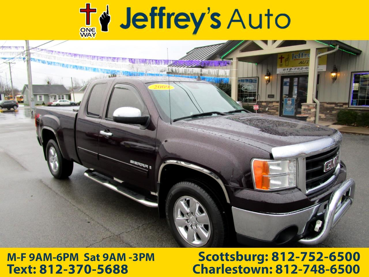 GMC Sierra 1500 SLT Ext. Cab Short Box 4WD 2009