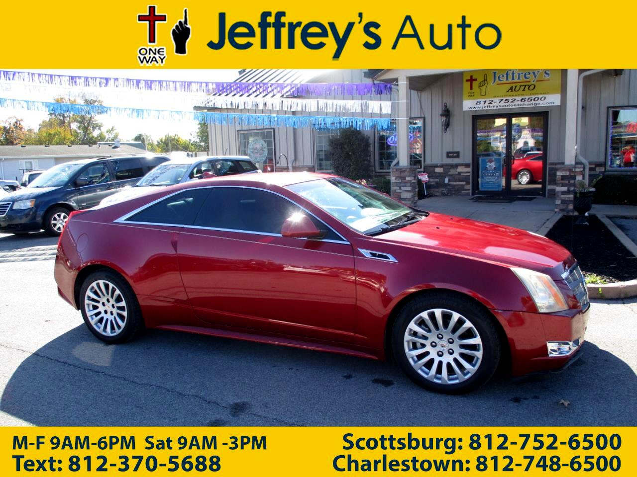 Cadillac CTS Coupe 2dr Cpe Performance RWD 2011