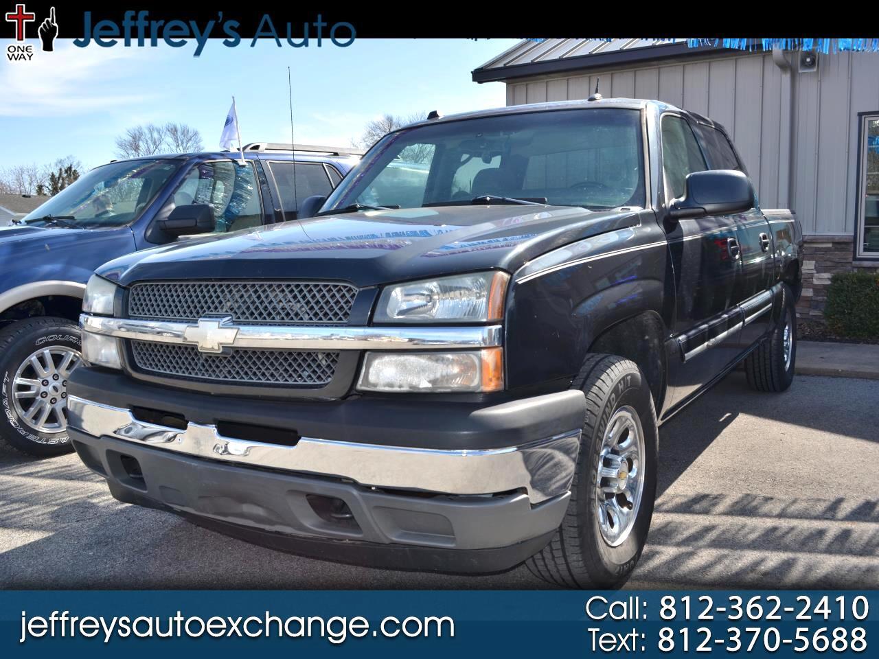 """Chevrolet Silverado 1500 Crew Cab 143.5"""" WB 4WD LS 2005"""