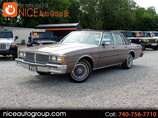 1984 Pontiac Parisienne Brougham