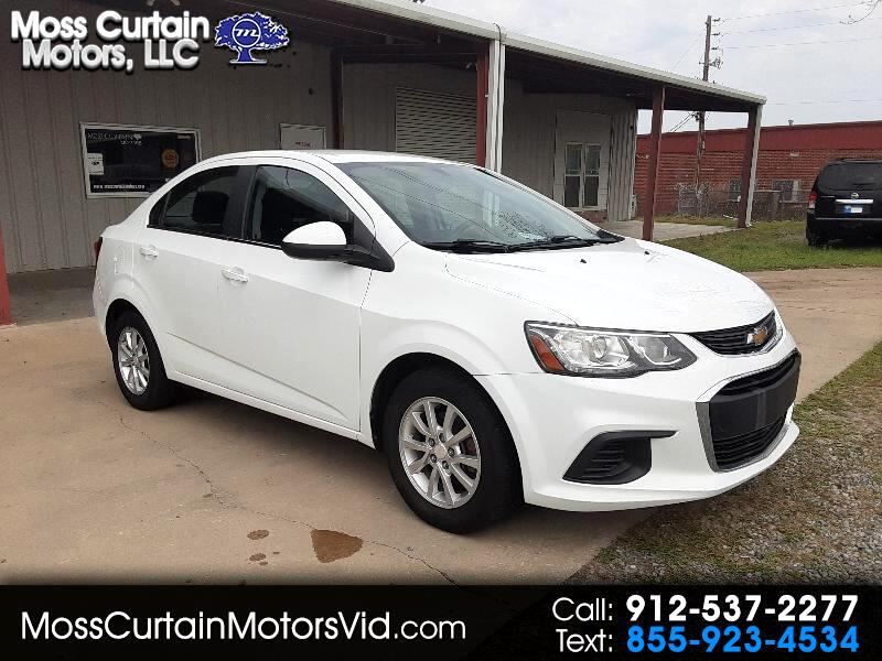 Chevrolet Sonic LT Manual Sedan 2017