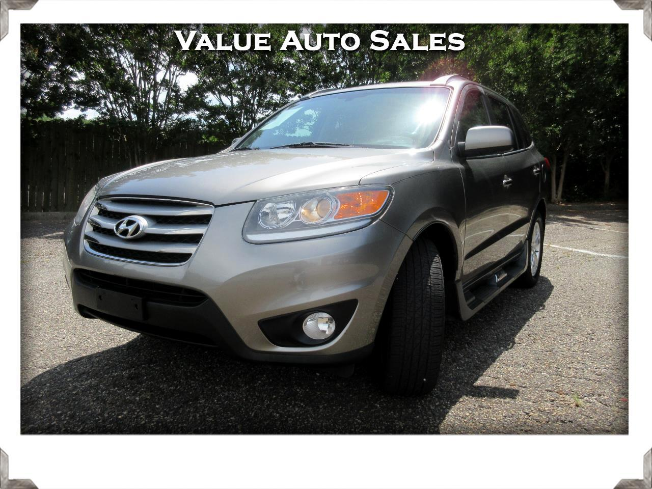 Hyundai Santa Fe Limited 3.5 4WD 2012