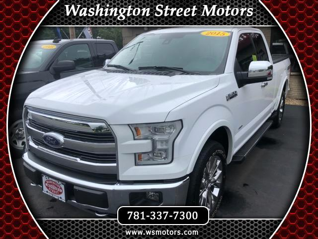 2015 Ford F-150 Lariat SuperCab 6.5-ft. Bed 4WD