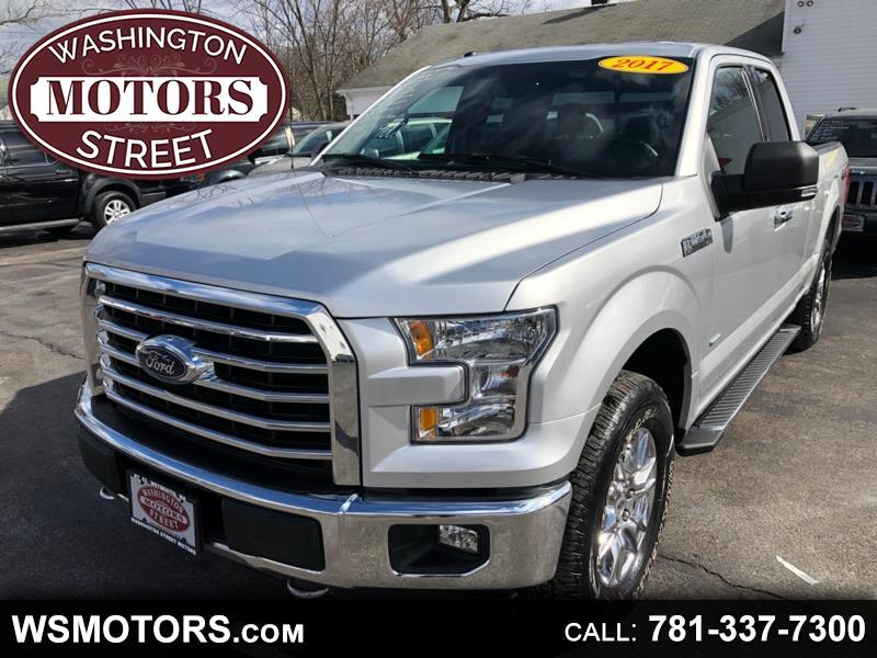 "2017 Ford F-150 4WD SuperCab 133"" XLT"