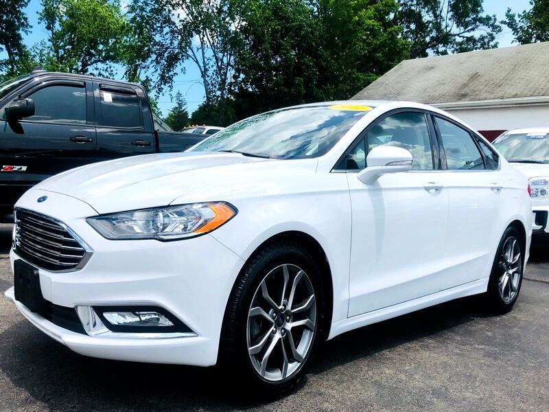 Ford Fusion 4dr Sdn SE FWD 2017