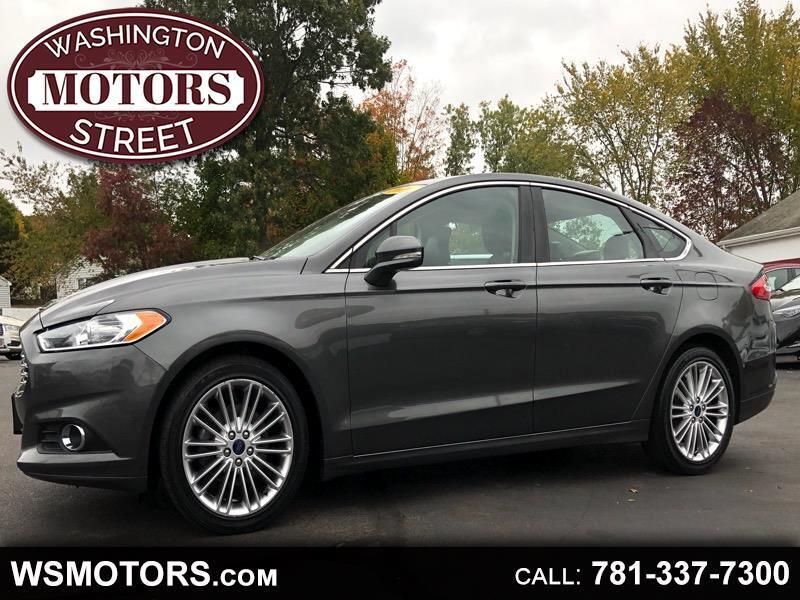 Ford Fusion SE AWD 2016