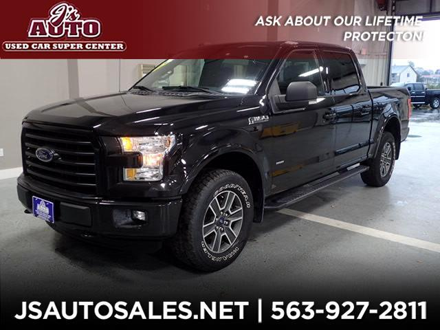 2015 Ford F-150 XLT Sport SuperCrew 5.5-ft Bed 4WD