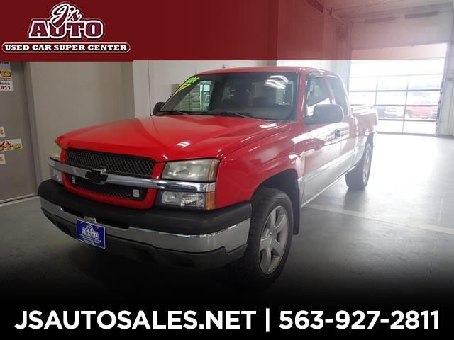 2004 Chevrolet Silverado 1500 Work Truck Extended Cab 4WD