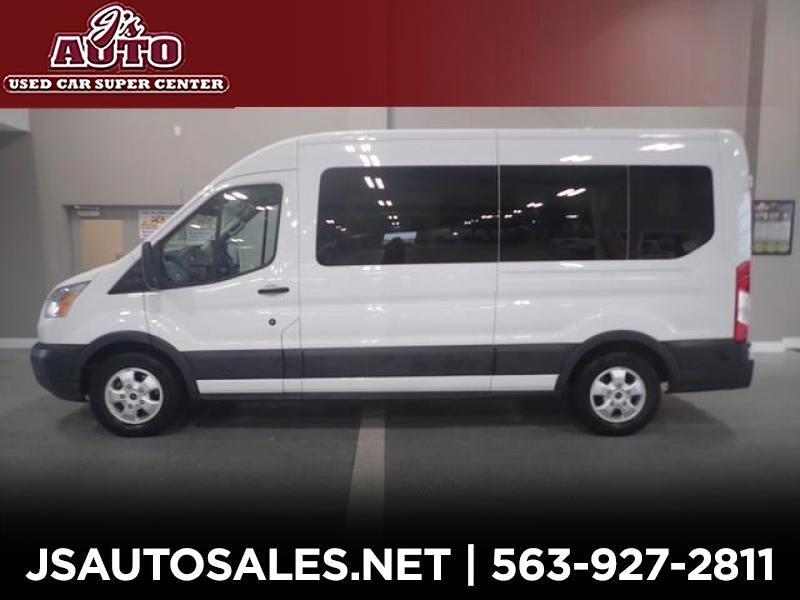 Ford Transit 350 Wagon Med. Roof XL w/Sliding Pass. 148-in. WB 2017