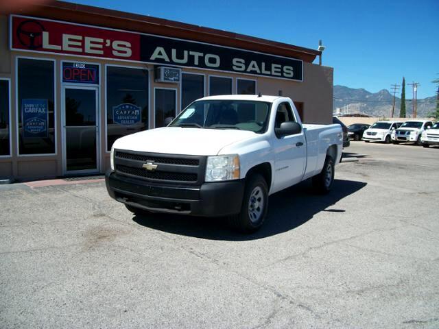 2008 Chevrolet Silverado 1500 4WD Reg Cab 133.0 Work Truck