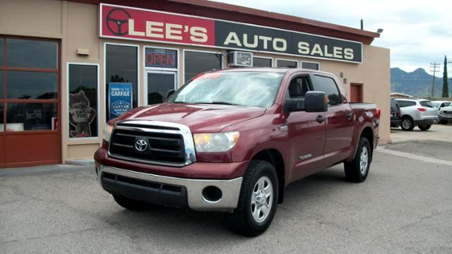 2010 Toyota Tundra CrewMax 5.7L FFV V8 6-Spd AT
