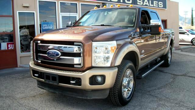 2011 Ford F-250 SD 4WD Crew Cab 156 King Ranch