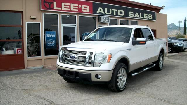 2010 Ford F-150 4WD SuperCrew 145 King Ranch