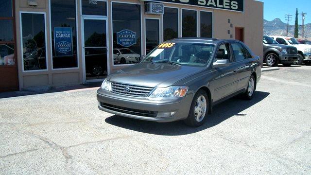 2003 Toyota Avalon 4dr Sdn XLS w/Bench Seat