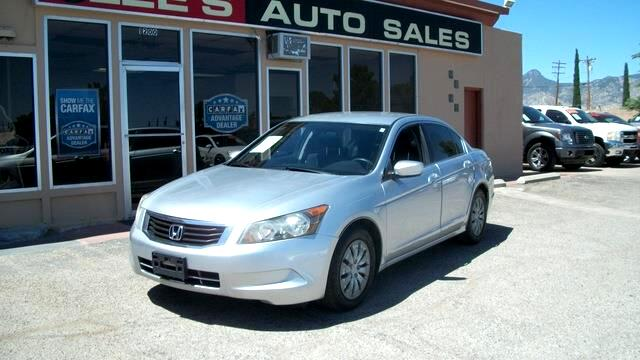 2009 Honda Accord 4dr I4 Auto LX