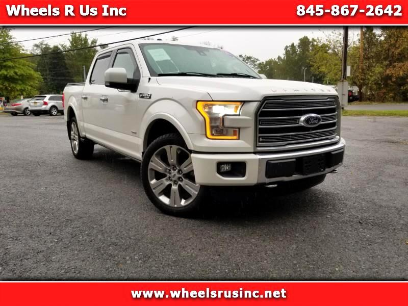 2016 Ford F-150 Platinum SuperCrew 5.5-ft. Bed 4WD