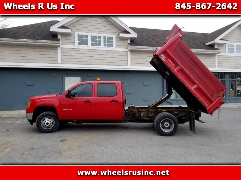GMC Sierra 3500HD Work Truck Crew Cab 4WD 2012