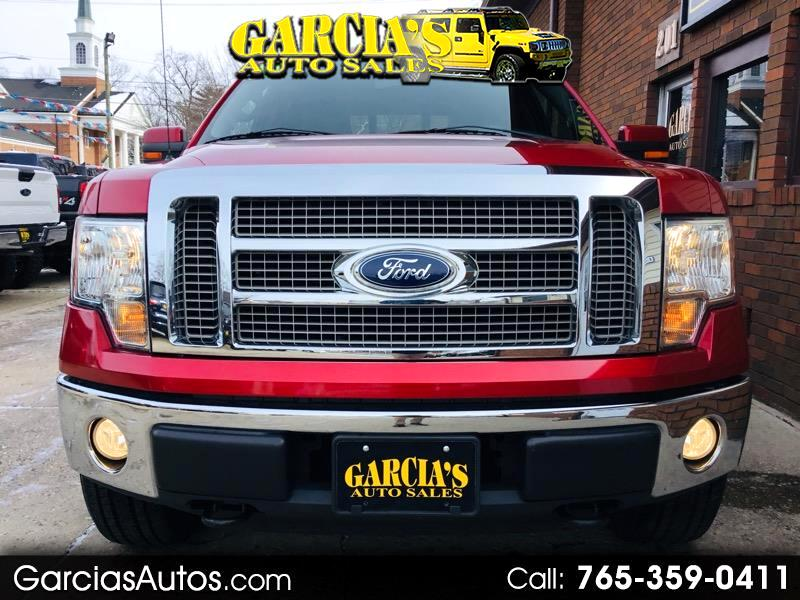 "2010 Ford F-150 4WD SuperCrew 145"" Lariat"