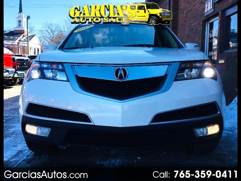 2013 Acura MDX 4WD 4dr Tech/Entertainment Pkg