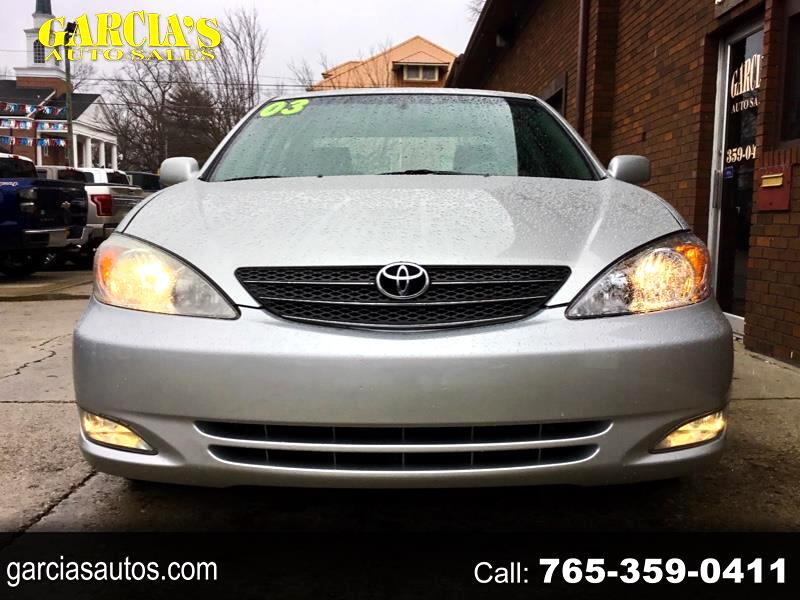 used 2003 toyota camry xle for sale in crawfordsville in 47933 garcia s auto sales used 2003 toyota camry xle for sale in