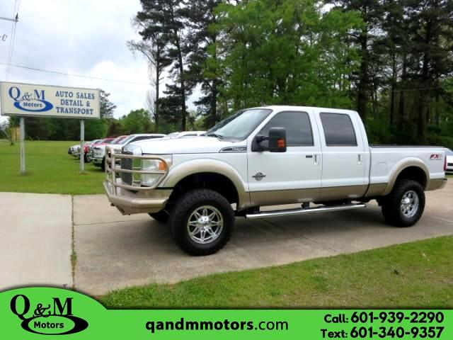 2012 Ford F-250 SD Lariat Crew Cab Short Bed 4WD