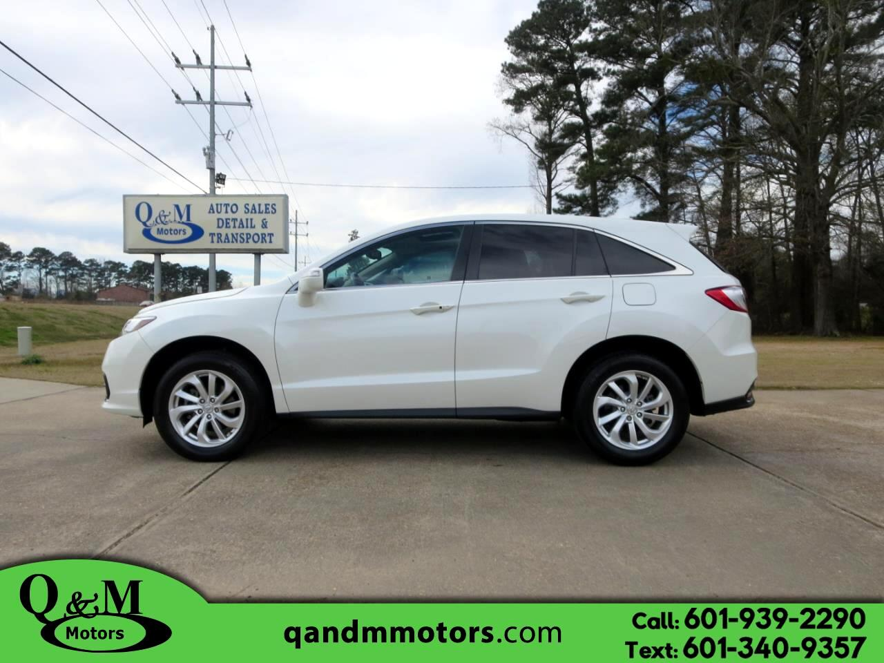 2016 Acura RDX FWD 4dr Tech/AcuraWatch Plus Pkg
