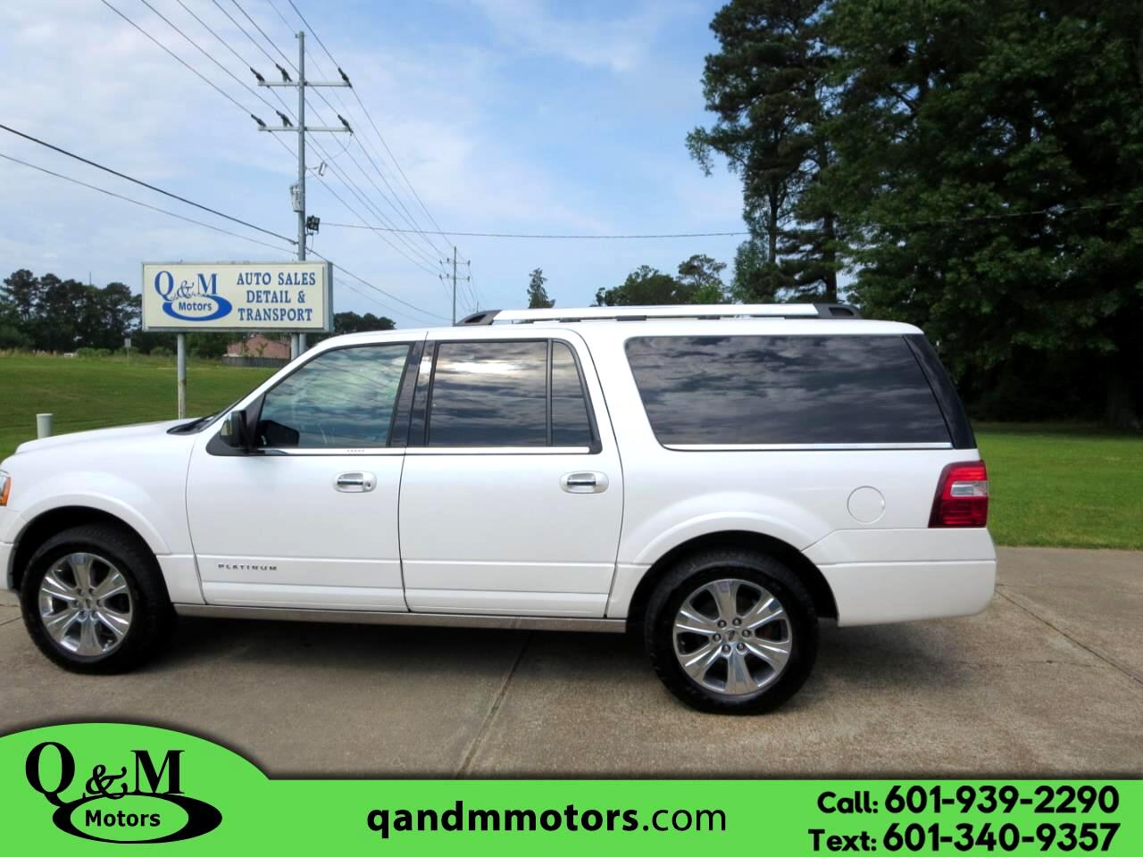 2015 Ford Expedition EL 2WD 4dr Platinum