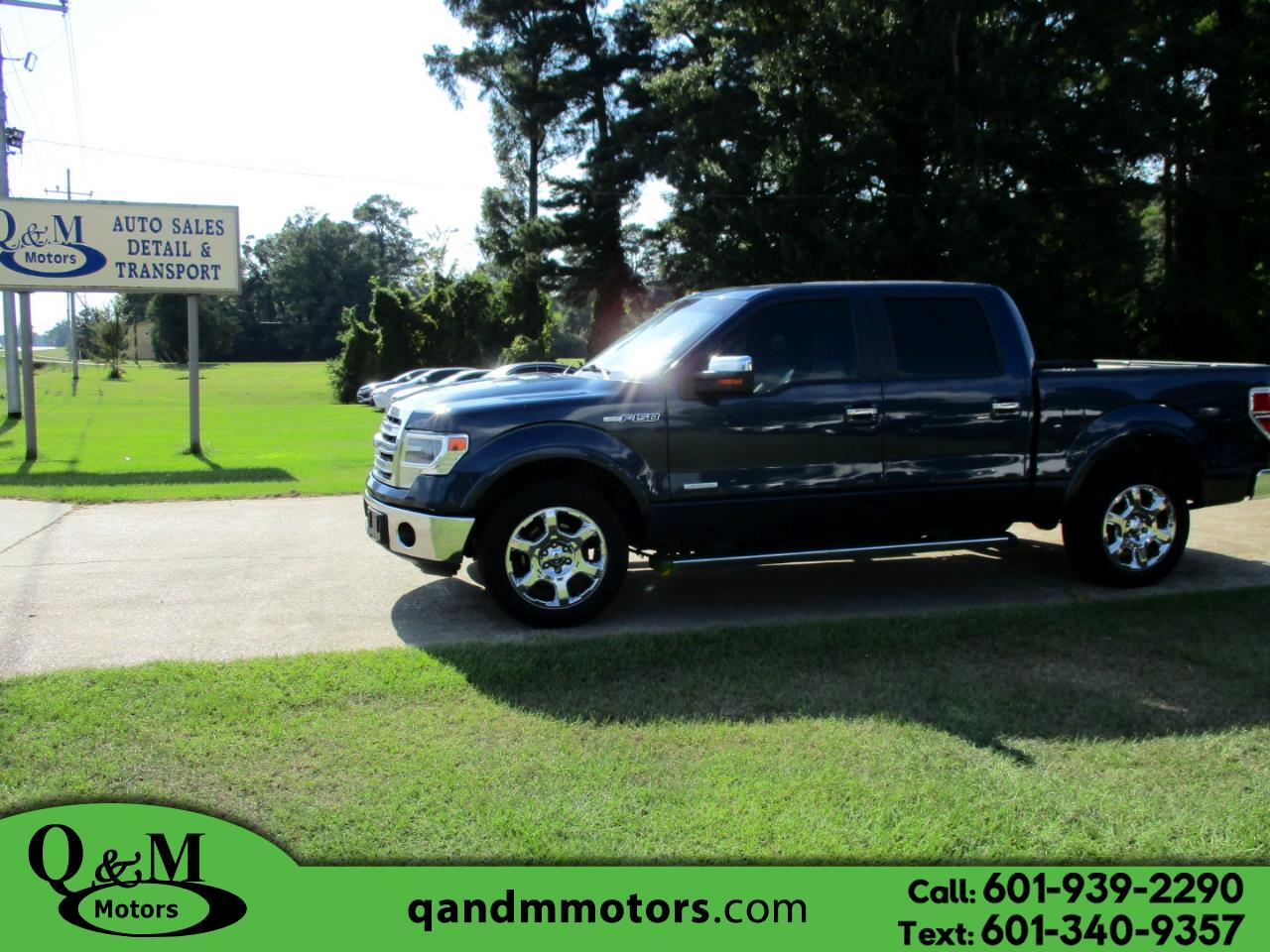 "2014 Ford F-150 2WD SuperCrew 145"" Lariat"