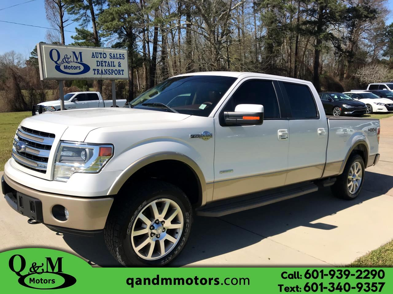 "Ford F-150 4WD SuperCrew 157"" King Ranch 2013"