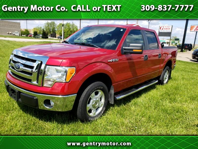 2012 Ford F-150 XLT 2WD SuperCrew 5.5' Box