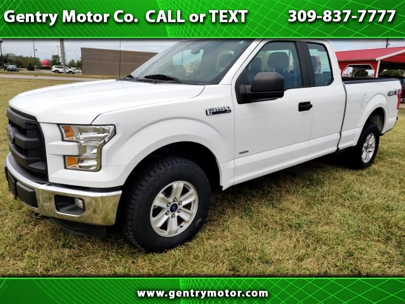 Ford F-150 XL 4WD SuperCab 8' Box 2015