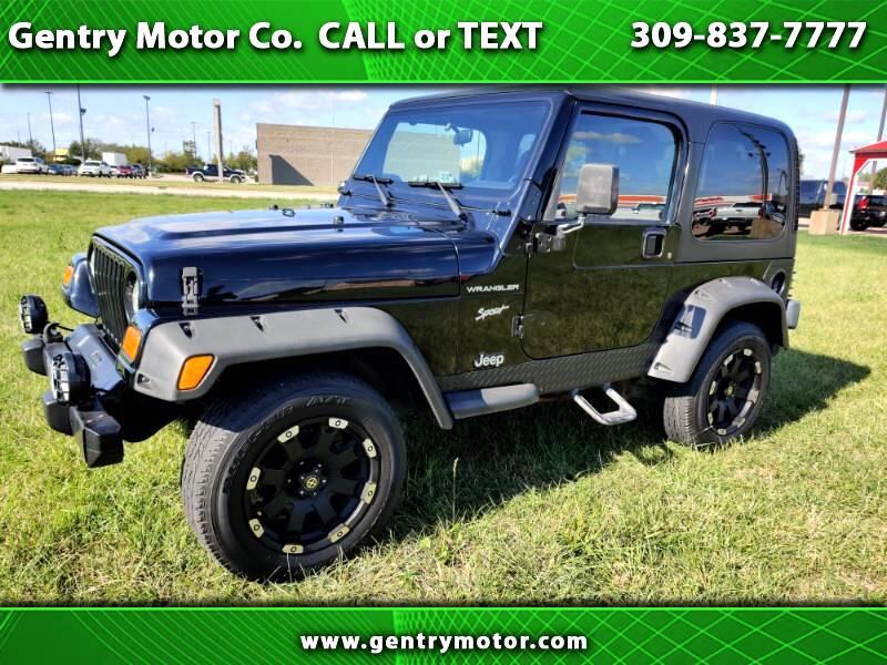 2002 Jeep Wrangler 2W