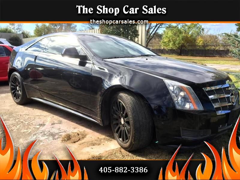 2011 Cadillac CTS Base Coupe AWD