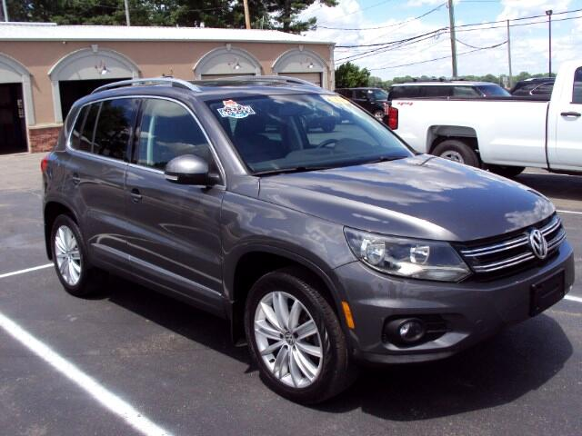 2014 Volkswagen Tiguan SEL 4Motion AWD