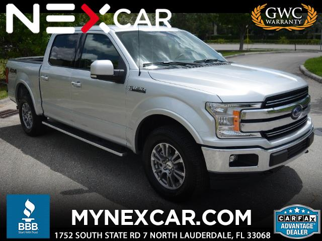"2018 Ford F-150 4WD SuperCrew 150"" Lariat"