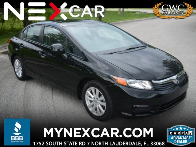 2012 Honda Civic EX-L Sedan 5-Speed AT