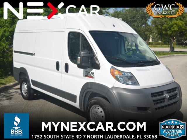 """2017 RAM Promaster 1500 High Roof 136"""" WB"""