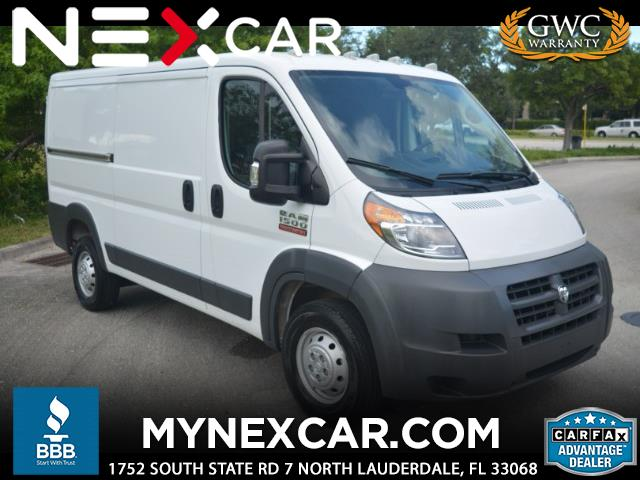 "2018 RAM Promaster 1500 Low Roof 136"" WB"