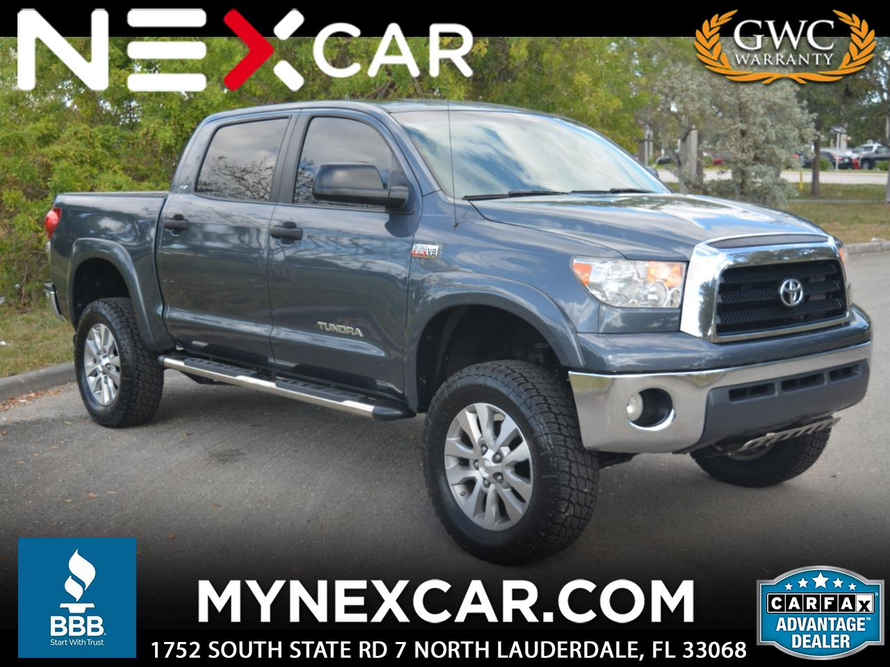 2009 Toyota Tundra 2WD Truck CrewMax 5.7L V8 6-Spd AT LTD (Natl)