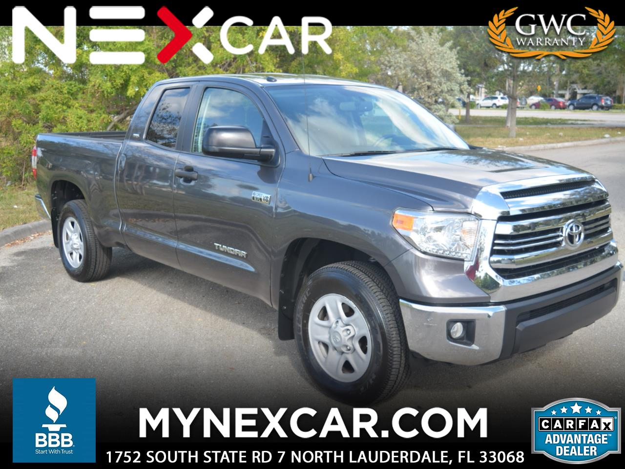 2016 Toyota Tundra 2WD Truck Double Cab 5.7L FFV V8 6-Spd AT SR5 (Natl)